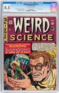 Golden Age (1938-1955):Science Fiction, Weird Science #12 (#1) (EC, 1950) CGC VG+ 4.5 Tan to off-whitepages....