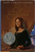 Books:Children's Books, Gail Carson Levine. INSCRIBED. Ella Enchanted.HarperCollins, 1997. Later impression. Signed and inscribed by the...