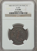 Large Cents, 1803 1C Small Date, Small Fraction Fine 15 NGC. S-245. NGC Census:(26/329). PCGS Population (30/340). Mintage: 3,131,691. ...