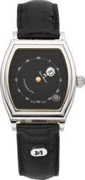 Timepieces:Wristwatch, Jean Marcel Mystery Dial Jump Hour Automatic. ...