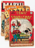 Golden Age (1938-1955):Miscellaneous, Miscellaneous Golden Age Comics Group (Various Publishers, 1943-48) Condition: Average FR.... (Total: 5 Comic Books)