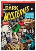 Golden Age (1938-1955):Horror, Dark Mysteries #19 (Master Publications, 1954) Condition: VG-....