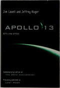 Books:Biography & Memoir, [Spaceflight]. Jim Lovell and Jeffrey Kluger. SIGNED BY LOVELL.Apollo 13 [Lost Moon]. Boston: Houghton Mifflin,...