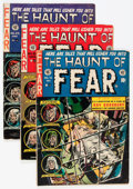 Golden Age (1938-1955):Horror, Haunt of Fear Group (EC, 1952-54) Condition: Average GD.... (Total:6 Comic Books)