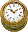 Timepieces:Pocket (pre 1900) , Richard King London Shagreen Drum Cased Verge Fusee, circa 1775....