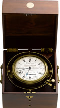 Timepieces:Other , James Hatton London Very Rare Eight Day Marine Chronometer No. 275,circa 1805. ...