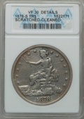 Trade Dollars, 1878-S T$1 -- Cleaned, Scratched -- ANACS. VF30 Details. NGCCensus: (26/765). PCGS Population (42/1108). Mintage: 4,162,00...