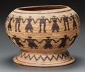 American Indian Art:Baskets, A YOKUTS COILED FRIENDSHIP BOWL. c. 1920...