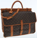Luxury Accessories:Bags, Louis Vuitton Classic Monogram Canvas Carry-on Travel Bag withShoulder Strap. ...