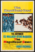 """Movie Posters:Western, The Magnificent Seven (United Artists, 1960). One Sheet (27"""" X 41""""). Western.. ..."""