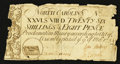 Colonial Notes:North Carolina, North Carolina March 9, 1754 26s 8d Fine-Very Fine.. ...