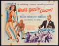 "Movie Posters:Musical, What's Buzzin' Cousin? (Columbia, 1943). Half Sheet (22"" X 28"").Musical.. ..."