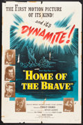 "Movie Posters:War, Home of the Brave (United Artists, 1949). One Sheet (27"" X 41"")& Lobby Cards (5) (11"" X 14""). War.. ... (Total: 6 Items)"