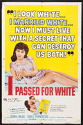 """Movie Posters:Exploitation, I Passed for White (Allied Artists, 1960). One Sheet (27"""" X 41"""") and Lobby Cards (7) (11"""" X 14""""). Exploitation.. ... (Total: 8 Items)"""
