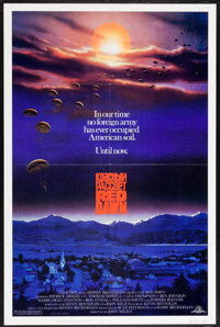 """Red Dawn (MGM, 1984). One Sheet (27"""" X 41""""). Action"""