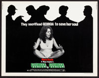 "Georgia, Georgia & Other Lot (Cinerama Releasing, 1972). Half Sheets (2) (22"" X 28""). Black Films. ... (To..."