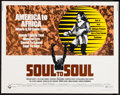 "Movie Posters:Rock and Roll, Soul to Soul (Cinerama Releasing, 1971). Half Sheet (22"" X 28"").Rock and Roll.. ..."