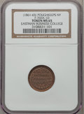 Civil War Merchants, (1861-65) Eastman Business College, Poughkeepsie NY MS65 NGC.Fuld-NY760A-1d, R.7....