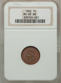 Indian Cents: , 1900 1C MS65 Brown NGC. NGC Census: (47/6). PCGS Population (11/0).Mintage: 66,833,764. Numismedia Wsl. Price for problem ...