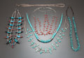 American Indian Art:Jewelry and Silverwork, SIX SOUTHWEST NECKLACES... (Total: 6 )