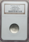 Civil War Merchants, 1863 H.M. Lane, Lamps, New York NY MS64 NGC. Fuld-NY630AP-7e, R.9.Broadstruck....