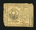 Colonial Notes:Continental Congress Issues, Continental Currency February 26, 1777 $30 Extremely Fine. This isa well margined and lightly circulated example which has ...