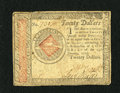 Colonial Notes:Continental Congress Issues, Continental Currency January 14, 1779 $20 Very Fine. This lovelyContinental is found in a very popular collector grade as i...