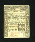 Colonial Notes:Connecticut, Connecticut March 1, 1780 10s With Criss Cross Cancel Choice AboutNew. This is a rather common issue but this note's partic...