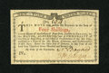 Colonial Notes:New York, New York January 6, 1776 (Water Works) 4s Gem New. This is anessentially superb gem example from the scarce fourth and fina...
