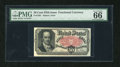 Fractional Currency:Fifth Issue, Fr. 1381 50c Fifth Issue PMG Gem Uncirculated 66. A lovely and veryhigh grade example of this Crawford type which has the m...