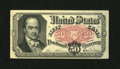 Fractional Currency:Fifth Issue, Fr. 1381 50c Fifth Issue Choice About New. A single center fold is all that separates this lovely Crawford note from the Cho...