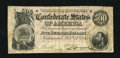 Confederate Notes:1864 Issues, T64 $500 1864. Crisp paper and decent margins are interrupted only by a slight stain at right. Very Fine....