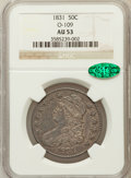 Bust Half Dollars, 1831 50C O-109 AU53 NGC. CAC. NGC Census: (116/1016). PCGSPopulation (135/916). Mintage: 5,873,660. Numismedia Wsl. Price ...
