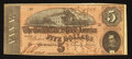 Confederate Notes:1864 Issues, T69 $5 1864 PF-9 State I Cr. 563.. ...