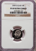Proof Roosevelt Dimes, 2009-S 10C Clad PR69 Ultra Cameo NGC. NGC Census: (0/0). PCGSPopulation (1048/395). Numismedia Wsl. Price for problem fre...