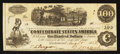 Confederate Notes:1862 Issues, T40 $100 1862 PF-7 Cr. 307.. ...