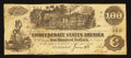 Confederate Notes:1862 Issues, T39 $100 1862 PF-9 State I Cr. 291.. ...
