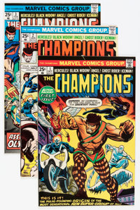 The Champions #1-15 and 17 Group - Savannah pedigree (Marvel, 1975-78) Condition: Average VF/NM.... (Total: 16 Comic Boo...