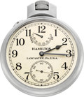 Timepieces:Pocket (post 1900), Hamilton Unused Model 22 Chronometer Received For Auction InFactory Sealed Box. ...
