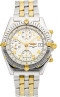 Timepieces:Wristwatch, Breitling B13050.1 Two Tone Chronomat Wristwatch. ...