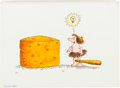 Animation Art:Limited Edition Cel, Jared Lee Kraft Cheese Commercial Concept Drawing Original Art (c.1970s)...