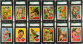 "Non-Sport Cards:Sets, 1966 Philadelphia Gum ""Tarzan"" Complete Set (66) - #1 on the SGCSet Registry! ..."