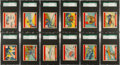 "Non-Sport Cards:Sets, 1940's R40 W.S. Corporation ""Defending America"" SGC Graded CompleteSet (48) - #1 on the SGC Set Registry! ..."