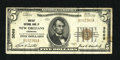 National Bank Notes:Louisiana, New Orleans, LA - $5 1929 Ty. 1 The Whitney NB Ch. # 3069. Some embossing remains visible on this example that has a sli...