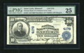 National Bank Notes:Missouri, Saint Louis, MO - $10 1902 Plain Back Fr. 627 The NB of CommerceCh. # 4178. The paper on this issue is bold and bright....