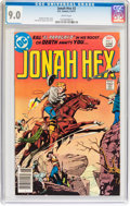 Bronze Age (1970-1979):Western, Jonah Hex #2 (DC, 1977) CGC VF/NM 9.0 White pages....