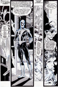 Original Comic Art:Panel Pages, Todd McFarlane The Amazing Spider-Man #313 Page 13 Original Art (Marvel, 1989)....