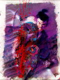 Original Comic Art:Covers, Bill Sienkiewicz and Frank Miller Lone Wolf and Cub DeluxeEdition Cover Original Art (First Publishing, 1988)....