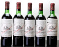 Red Bordeaux, Chateau Beychevelle 1970 . St. Julien. 3vhs, 2hs, 1htms,1lcc. Bottle (5). ... (Total: 5 Btls. )