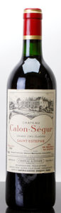 Red Bordeaux, Chateau Calon Segur 1990 . St. Estephe. Bottle (1). ...(Total: 1 Btl. )